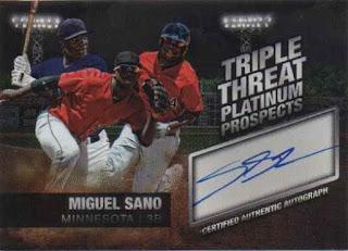 Featured autograph – Miguel Sano