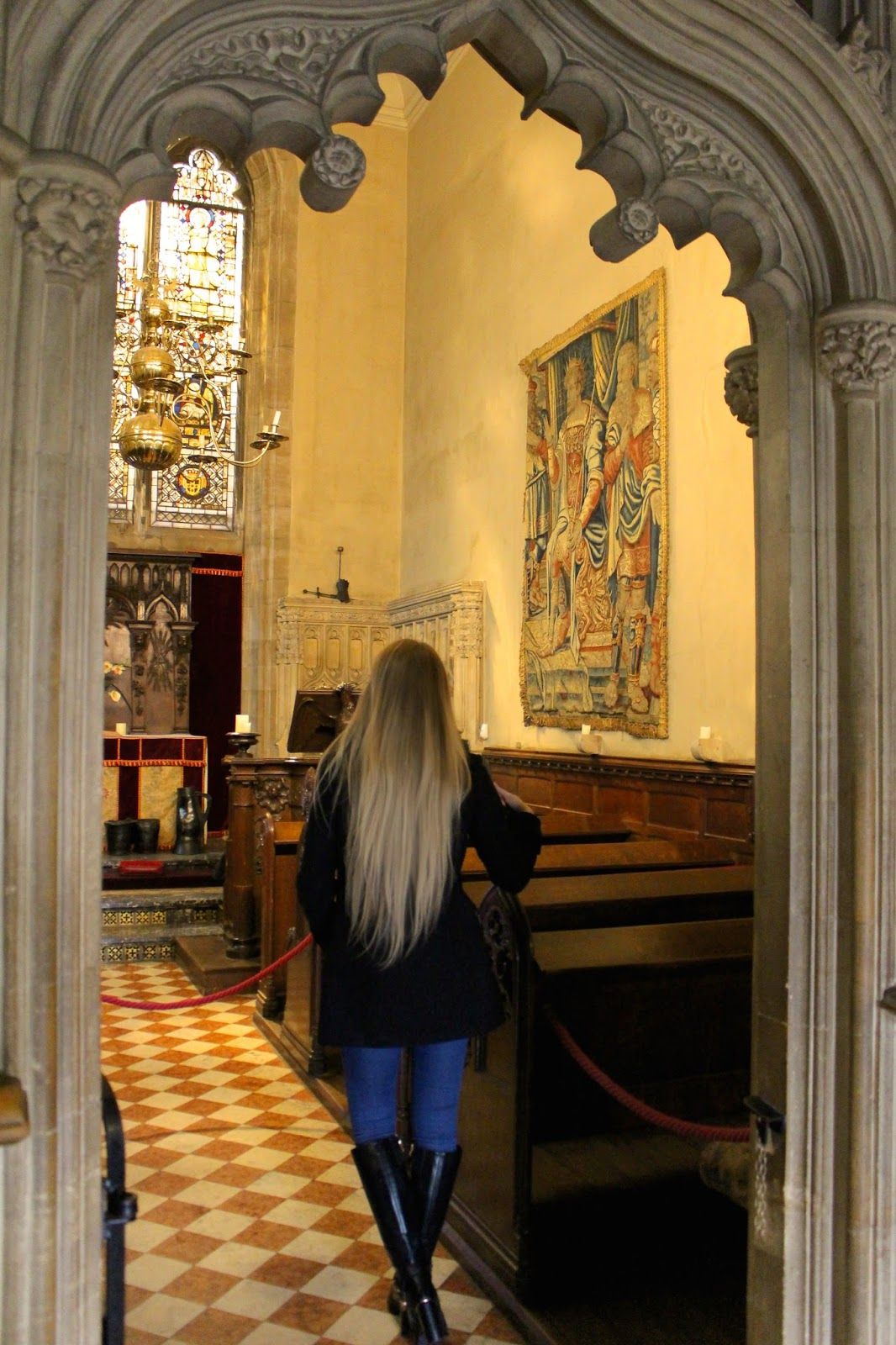 Warcwick Castle Blog Review Chapel