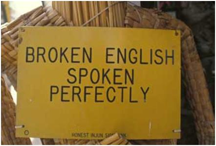 blant på engelsk