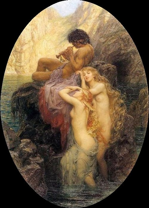 odysseus sirens draper