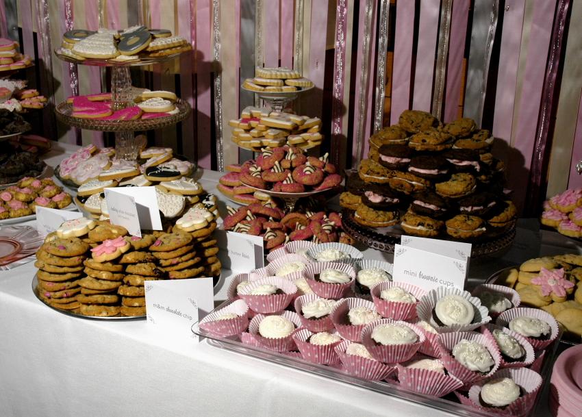 Country Cupboard Cookies Blog Pink Cookie Buffet