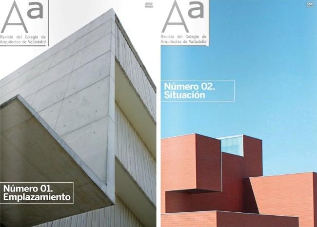 revista del colegio de arquitectos de valladolid aa