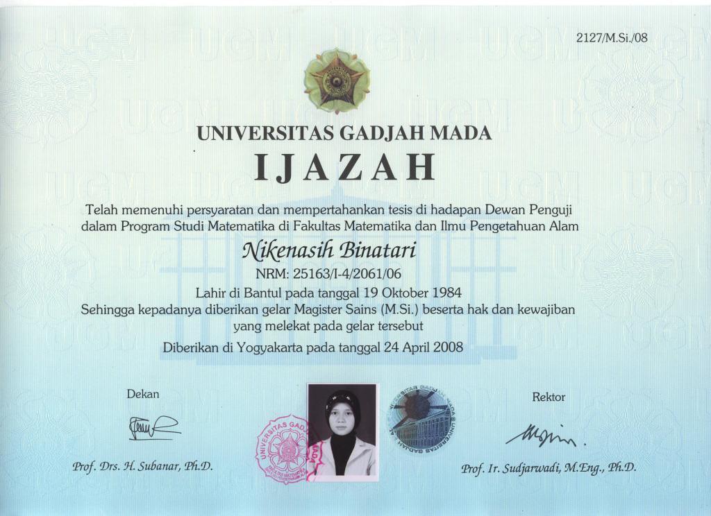 Search Results Contoh Kertas Ijazah Sma - Wedding Photo