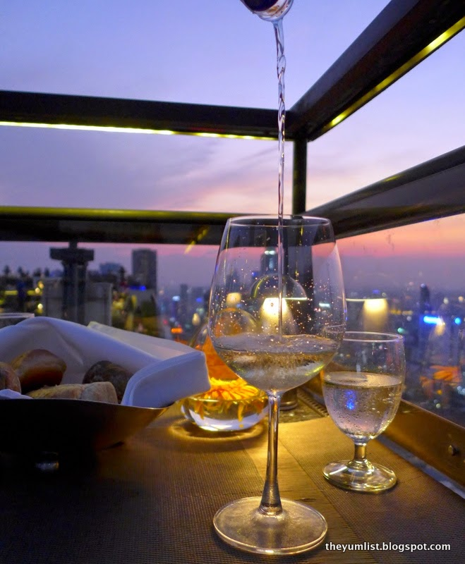Vertigo Grill and Moon Bar, Banyan Tree Bangkok