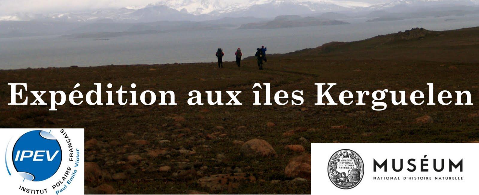 Expédition aux îles Kerguelen