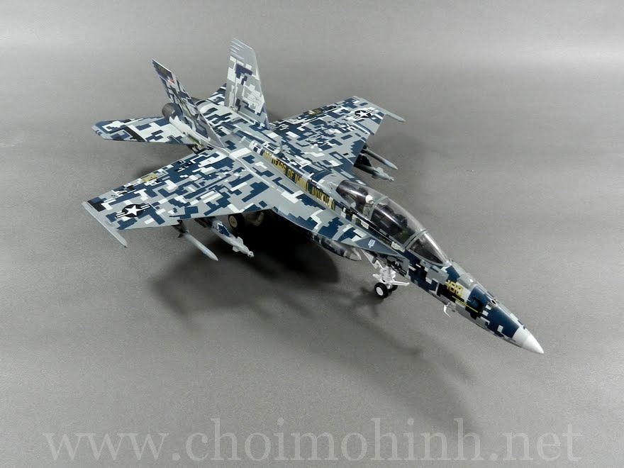 F/A-18F Super Hornet 100 Years Of Naval Aviation 1:72 Witty Wings up