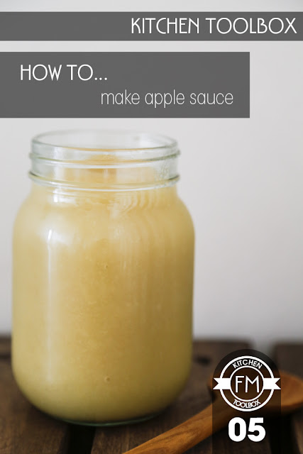 A glass jar filled with apple sauce