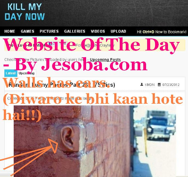 Web site of the Day | Entertainment - Kill My Day Now Tuesday, 7th Aug, 2012