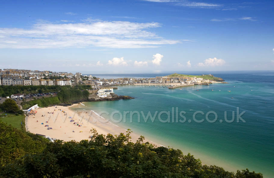 Saint Ives Past And Present Cornwall And Cornish