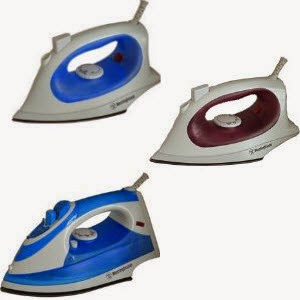 Westinghouse Steam Iron whsi 601m- Rs. 599, WHSI610B- Rs. 899 & WHSI601B- Rs. 1000