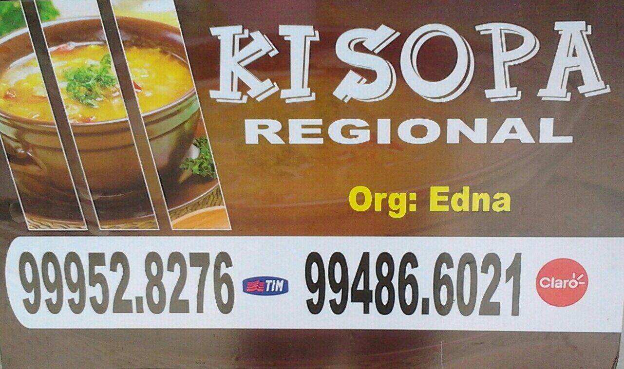 O sabor da região.