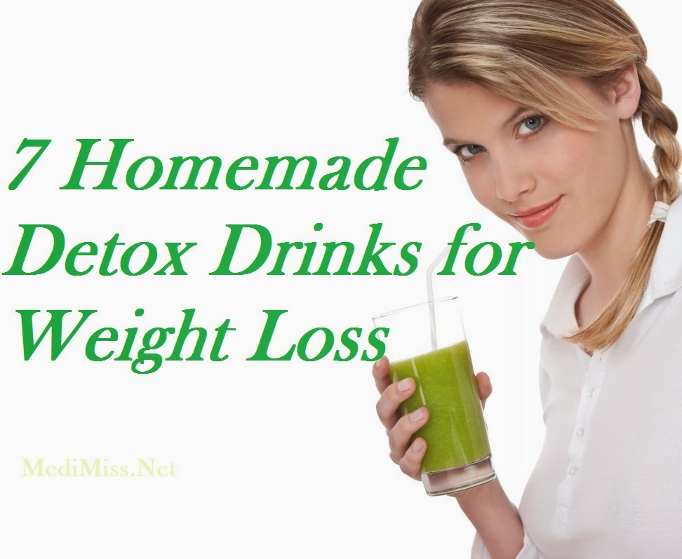 homemade detox to lose weight