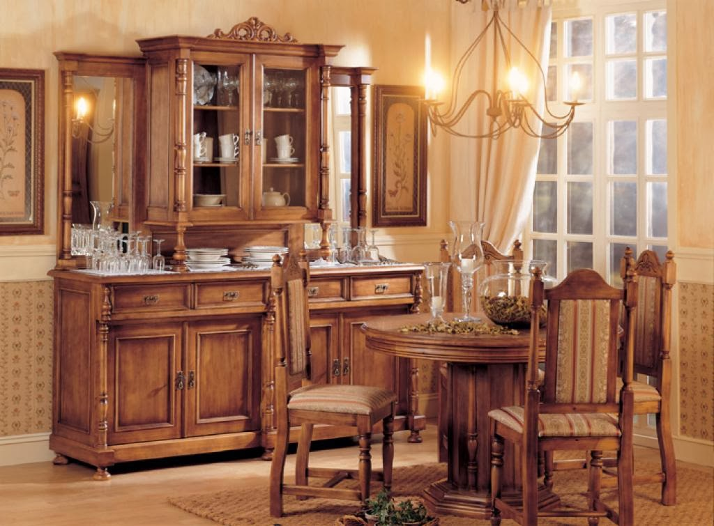 Mi casa mi hogar comedores r sticos for Decoracion de comedores rusticos