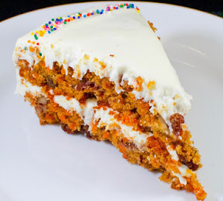 Carrot Cake with Vanilla Buttercream