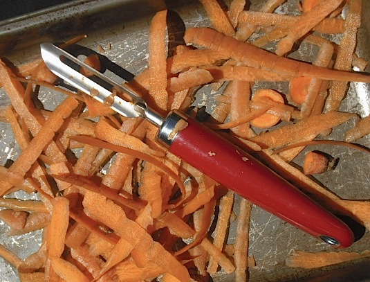 candied ginger carrots