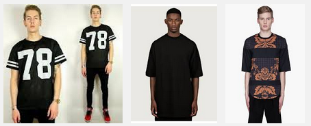 Design Context Different types of t shirt research
