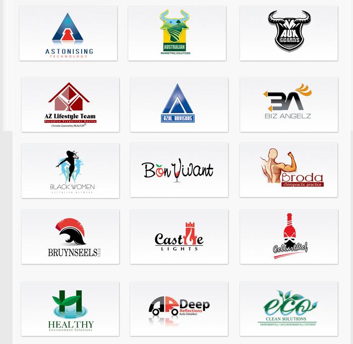 high quality logo desiging service logo starting from 15