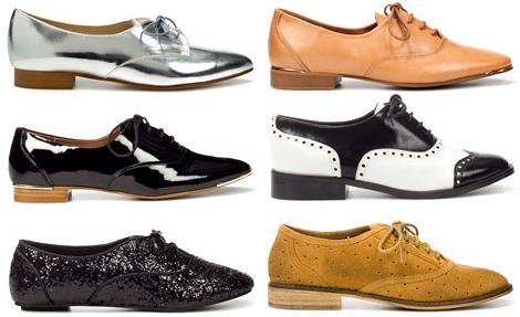 Zapatos Zapatos Oxford Mujer Zara Mujer Oxford DH2EI9