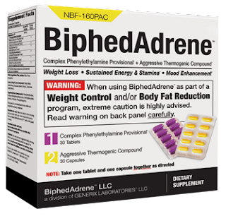 BiphedAdrene weight losspills review