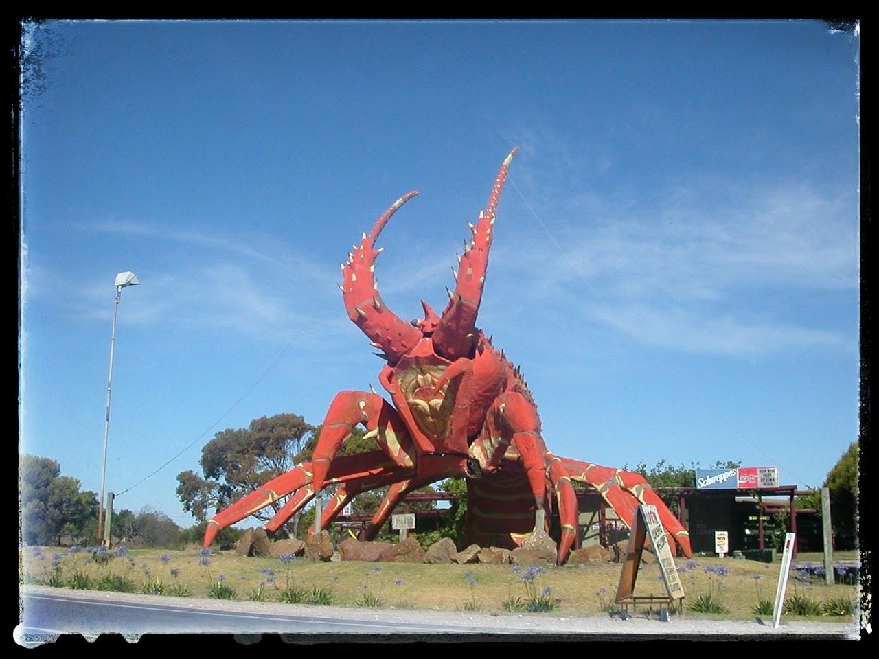statua astice più brutta del mondo in Australia. Blog Tra Cucina & Realtà