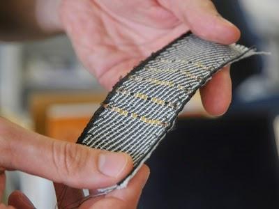 Woven e-textile