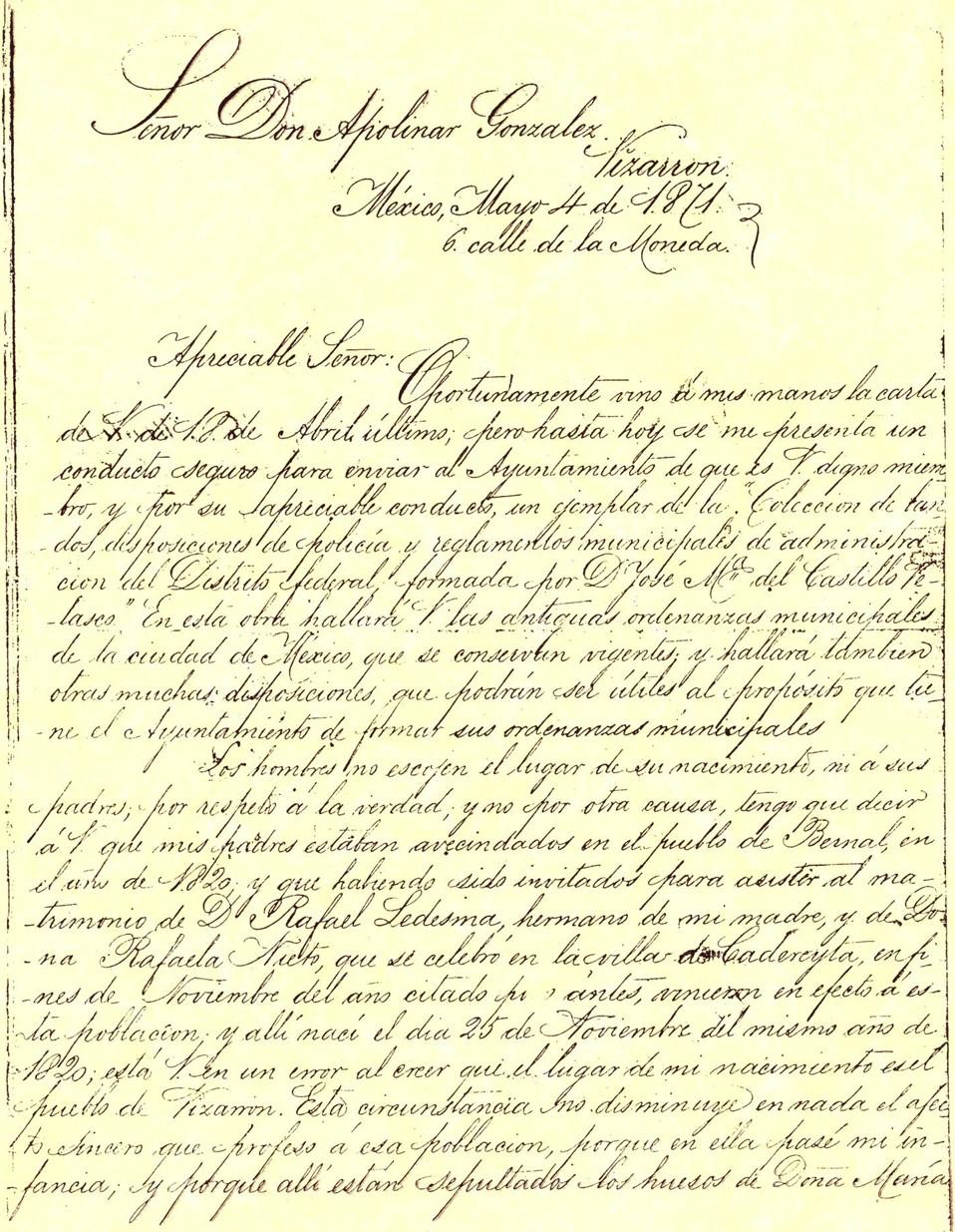 23 DE JULIO DIA DEL REGISTRO CIVIL, MEXICO.   CRONICAS HISTORICAS Y ...