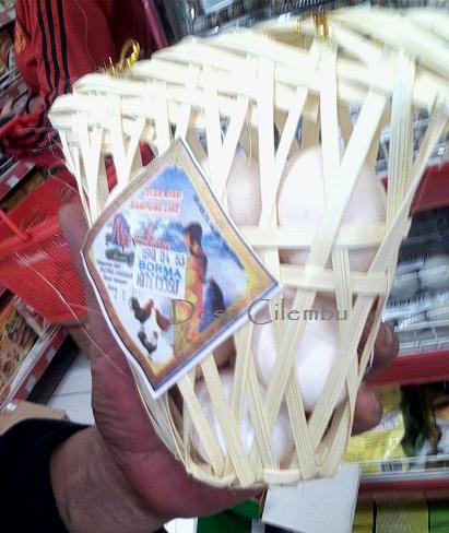 Keranjang bambu ramah lingkungan itu jadi pilihan utama