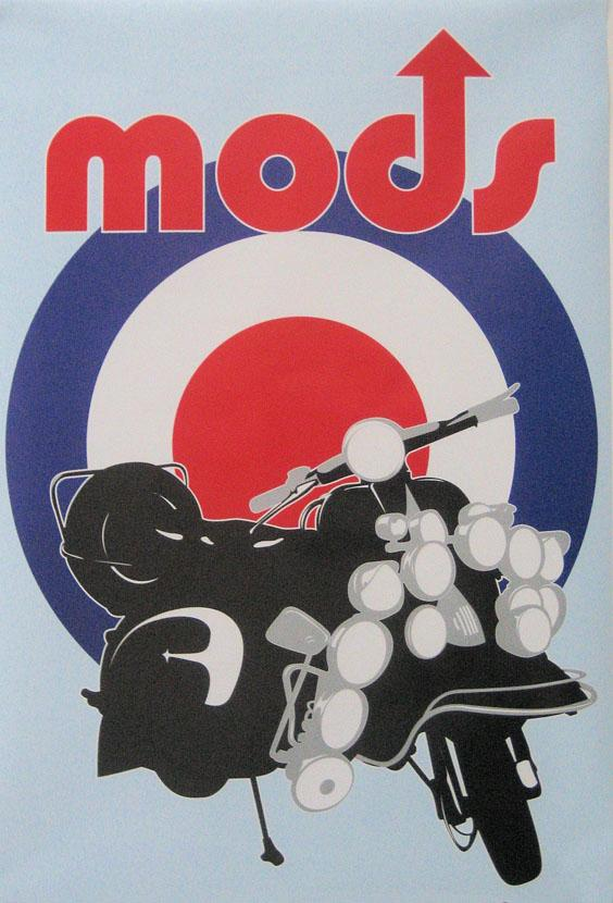 the mods style and symbols The knack and how to get it: the roots of mod clothing and style a seed that would grow into an icon of the swinging sixties era and a symbol of mod culture.