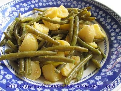 Contorni, gomasio, insalata, patate, semi girasole, tegoline,