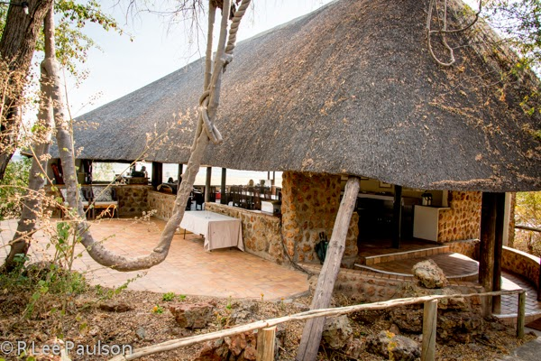 Baobab Lodge main lodge building