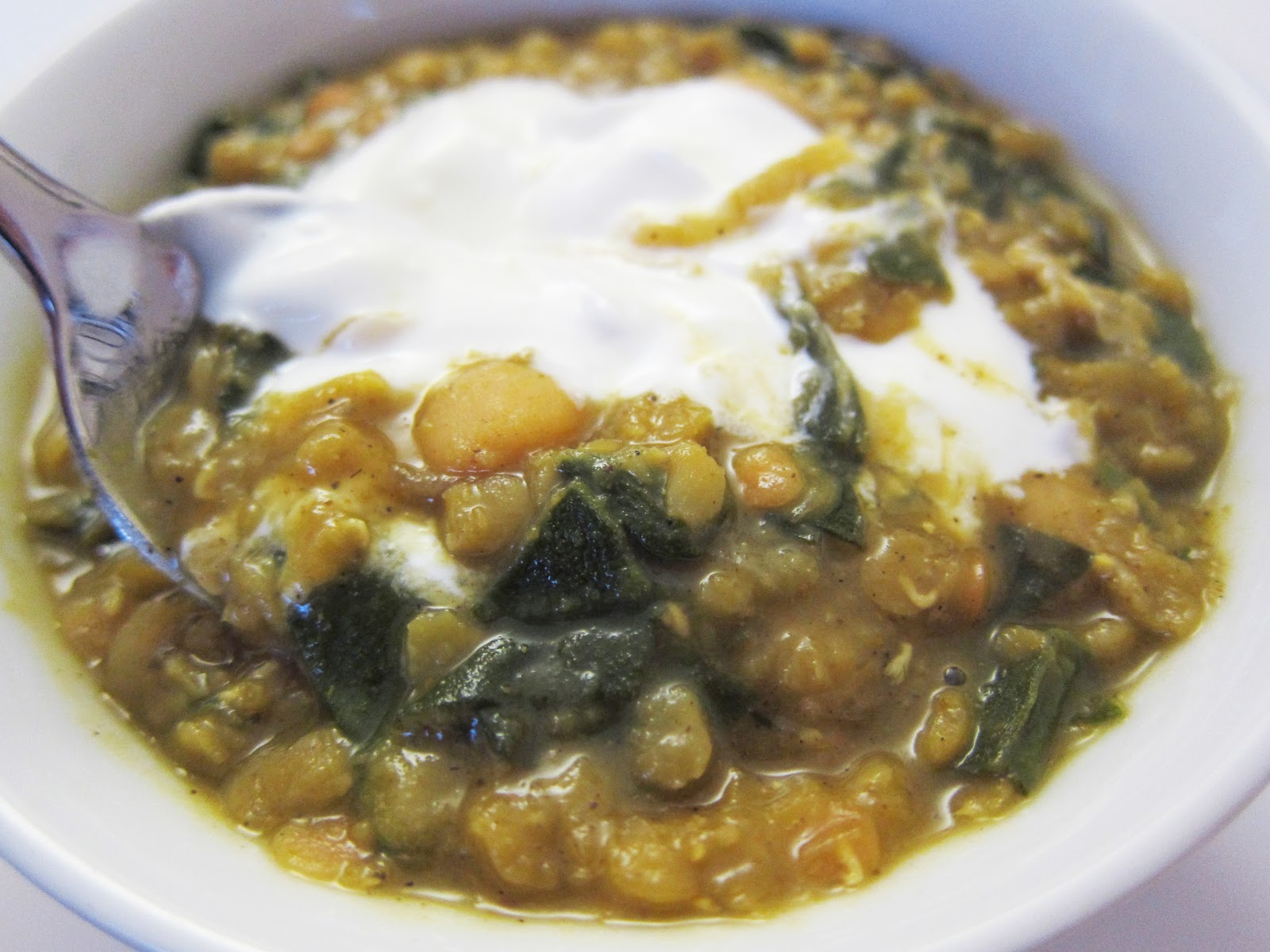 ... Recall: Curried Red Lentil and Swiss Chard Stew with Garbanzo Beans