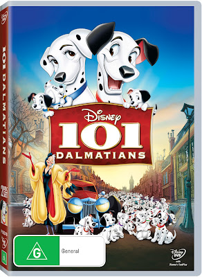 101 Dalmatians DVD Disney Giveaway Review