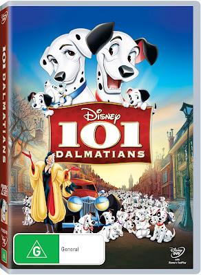 101 Dalmatians DVD Disney Giveaway Review