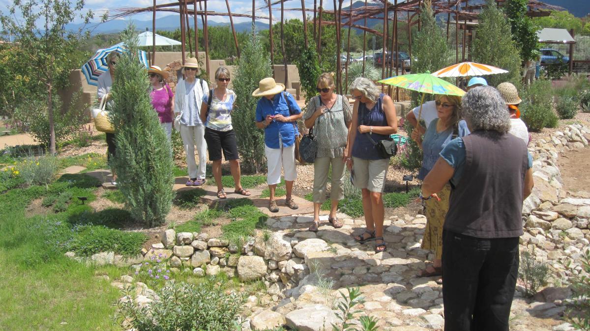 Garden Club Visits Santa Fe Botanical Garden