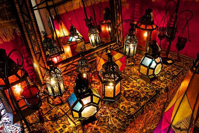 Terraza estilo marroquí
