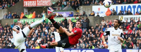 Video Highlight Swansea City 1-4 Manchester United EPL 17/8/2013