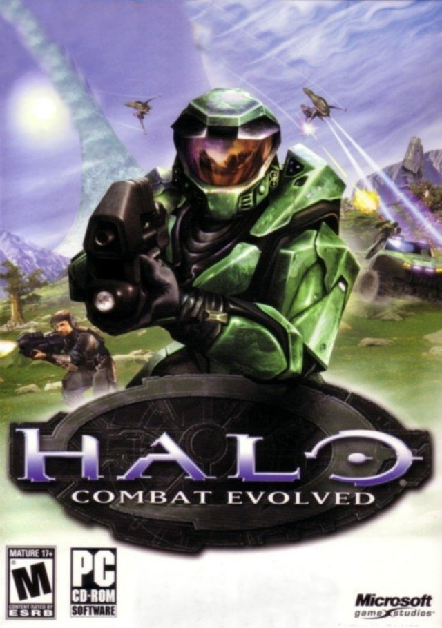 Halo Combat Evolved Game Poster | Halo Combat Evolved Game Cover