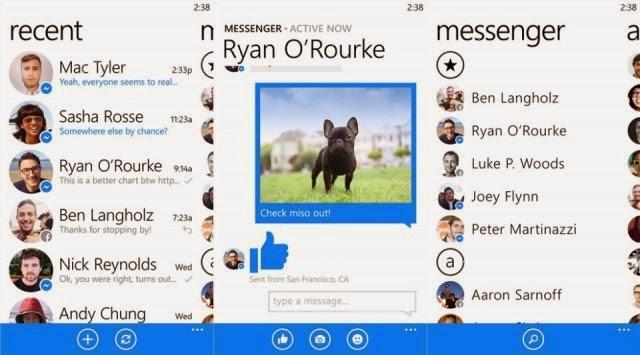 Facebook Messenger Finally Come to Windows Phone Platform
