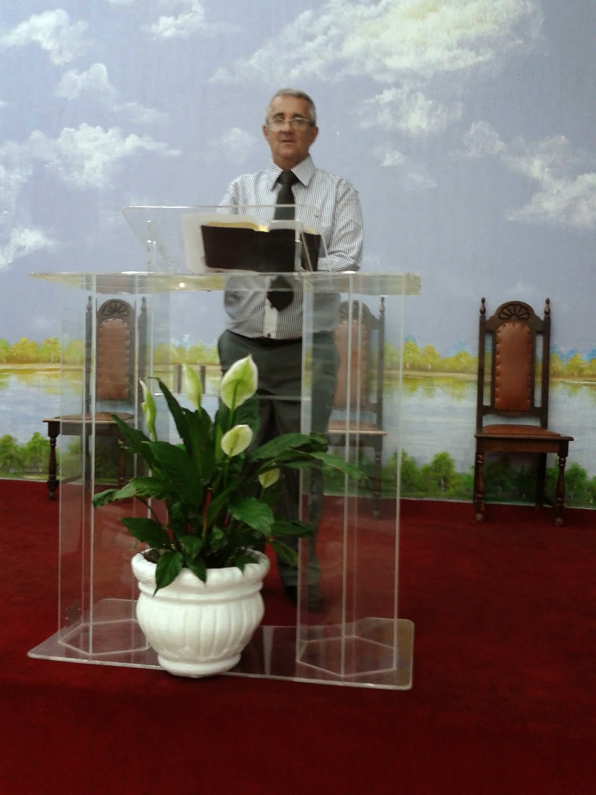 Pregando em Mogi Guaçu