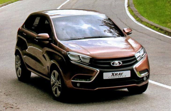 New Lada Vesta Sedan And Xray Hatch Concepts Carscoops