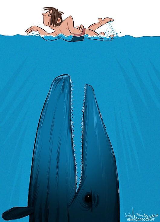 A Baleia Azul