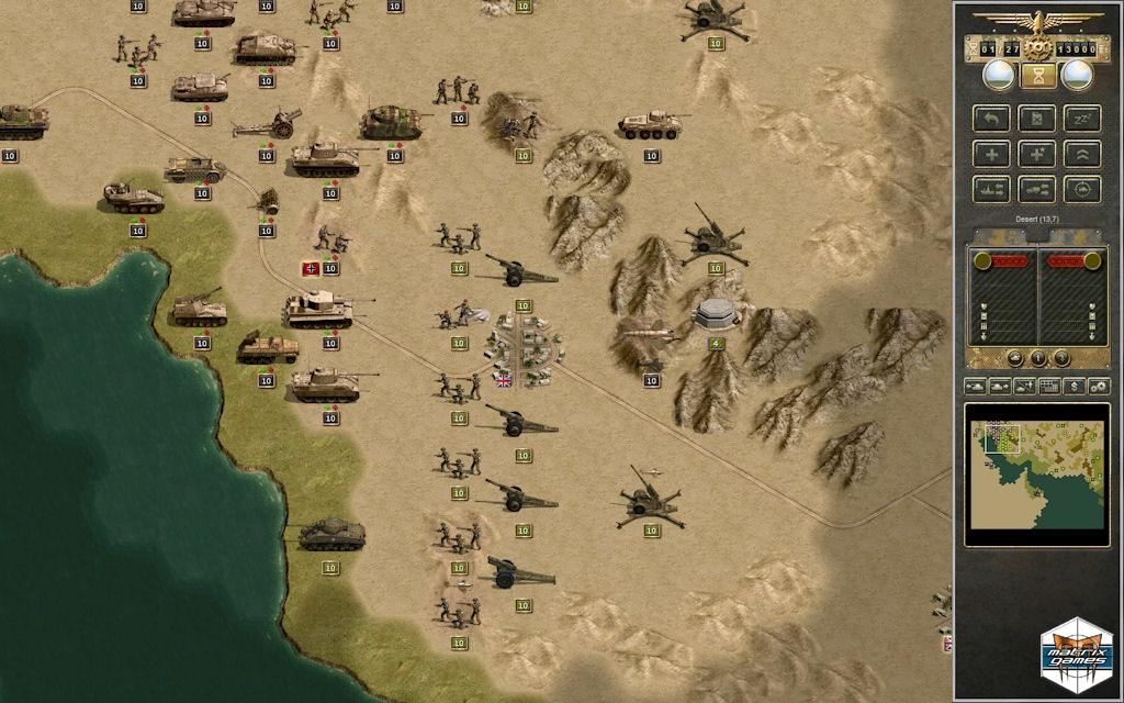 Panzer Corps Afrika Korps Free Game Download Free Games