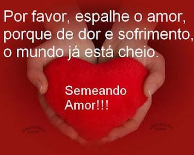 Mensagens para facebook e Imagens  de Amor.
