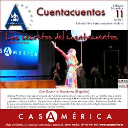 En la Casa de América de Madrid