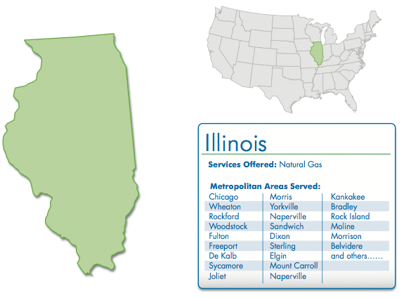 ampegy offers natural gas services for illinois in the following