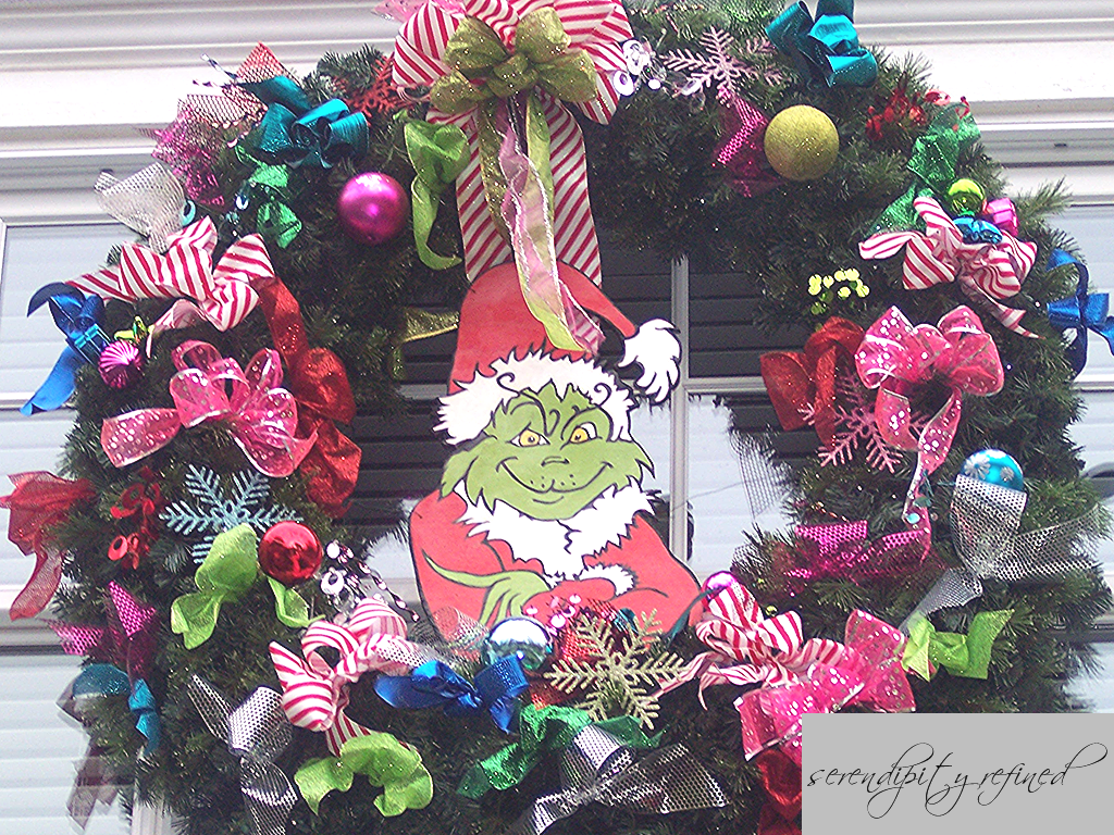 Grinch outdoor christmas decorations - The