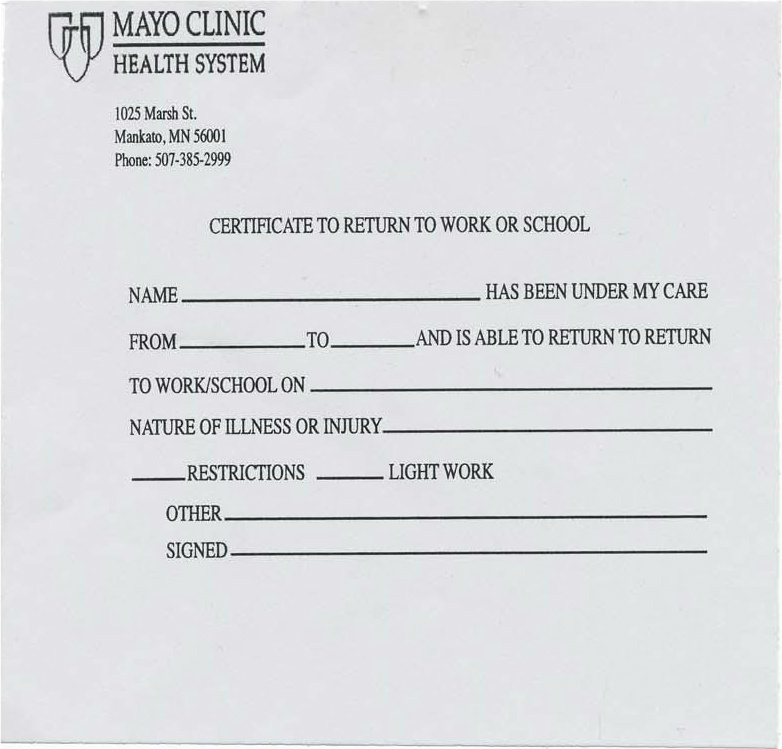 doctors note for work template download create fill and print