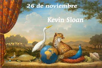 Kevin Sloan y su estilo alegórico