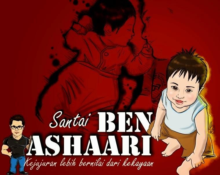sabani ashaari, nama sebenar ben ashaari, segmen ben ashaari, impian seorang blogger,