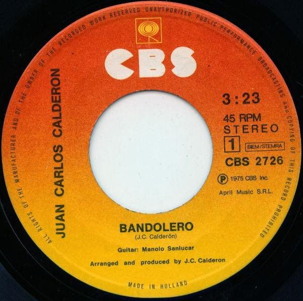 http://www.discogs.com/Juan-Carlos-Calderon-Bandolero/release/2054219